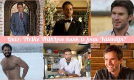 Quiz: welke WithLove hunk is jouw Valentijn?