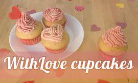 Recept voor WithLove Cupcakes!