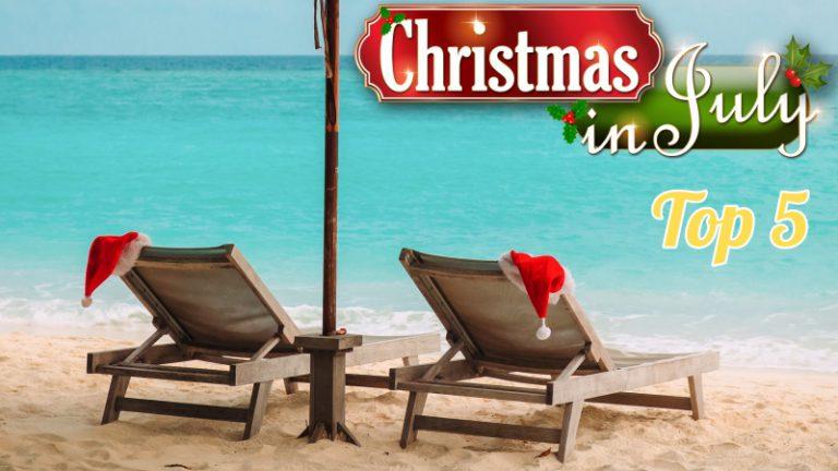 Vier Christmas in July op WithLove